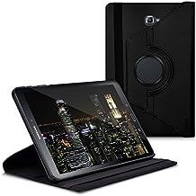 kwmobile Funda para Samsung Galaxy Tab A 10.1 (S-Pen) - Case de 360 grados de cuero sintético para tablet - Smart Cover completo y plegable para tableta en negro