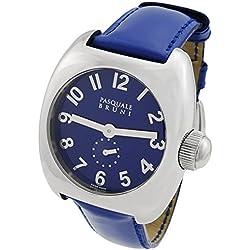 Pasquale Bruni Uomo Edelstahl Swiss Made Automatic Herren-Armbanduhr 01MA33