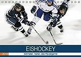 Eishockey! Schneller, härter, das Powergame! (Tischkalender 2019 DIN A5 quer): Heiße Action auf eiskaltem Eis! Das ist Eishockey live! (Monatskalender, 14 Seiten ) (CALVENDO Sport)