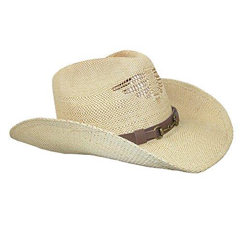 Jeanne Simmons - Chapeau western - Homme beige beige Taille unique peau
