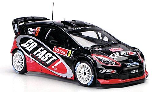 Preisvergleich Produktbild Ford Fiesta R, No.9, Go Fast, Rallye WM, Rallye Monte-Carlo, 2012, Modellauto, Fertigmodell, Spark 1:43