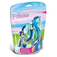 Playmobil 6169 Collectable Princess Luna with Horse for Grooming and Dressing Their Mane
