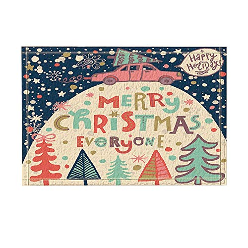 MMPTn Decoración navideña Coche árbol Navidad Debajo