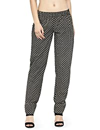 Cotton Printed Elasticated Palazzo Pant With Pockets