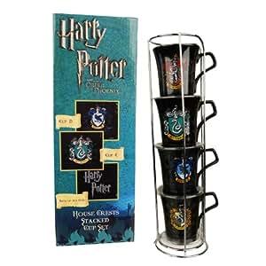 Harry Potter Stackable House Crests Mug tasse Set