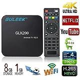 GULEEK GLK200 Android 6.0 TV Box Mini PC mit Amlogic S905X Quad Core 4K HD Player für Video und Spiele
