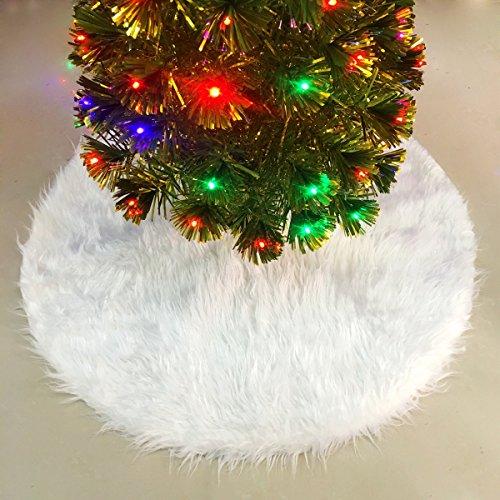 Manta decorativa pie árbol Navidad Ieve, 90 cm