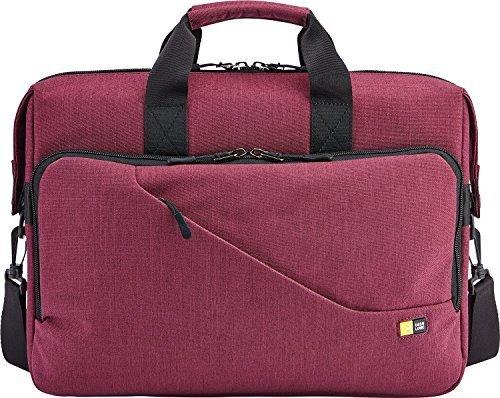Case Logic Reflexion Schutzhülle für Laptop Slim Messenger Aktentasche Rot Marsala Red 15