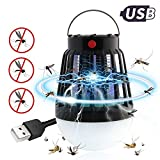 Leegoal 2-in-1 Mosquito Killer Bug Zapper Outdoor Camping Lamp, Waterproof Fly Zapper Insect