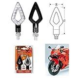 Paar Bremsscheiben 90247 Kier LED-Blinker für Motorrad Zugelassen 12V Universal Yamaha YZF R125 2008-2017
