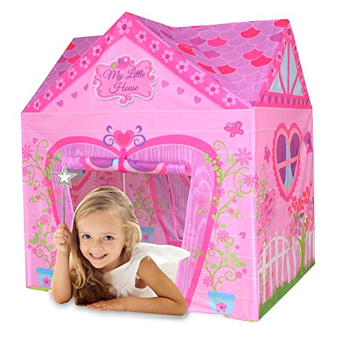 Bentley Kids - Tente de Jeu My Little House - Maison de Princesse - Enfant - Rose