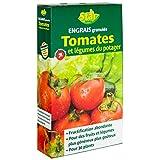 Star jardin 08141 Engrais Tomates et Lègumes en Granulés Vert 1 kg