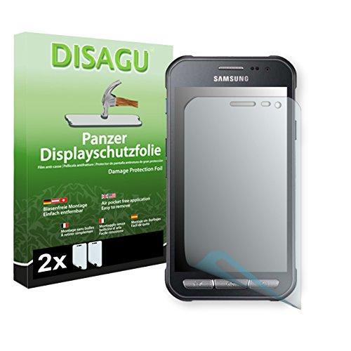 2 x Disagu Panzerfolie Displayschutzfolie für Samsung Galaxy Xcover 3 (SM-G388F) Bruchschutzfolie