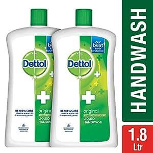 Dettol Original Liquid Soap Jar - 900 ml (Pack of 2)