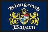 Fußmatte Türmatte Schmutzfangmatte mit Motiv: Freistaat Bayern 213
