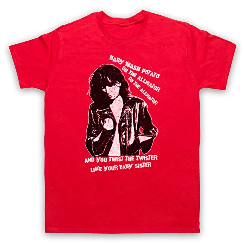 Inspiriert durch Patti Smith Land Horses Unofficial Herren T-Shirt Rot