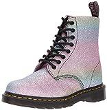 Dr Martens Women's Pascal Rainbow Glitter 8-Eye Lace Up Boot Multi-Multi-5 Size 5