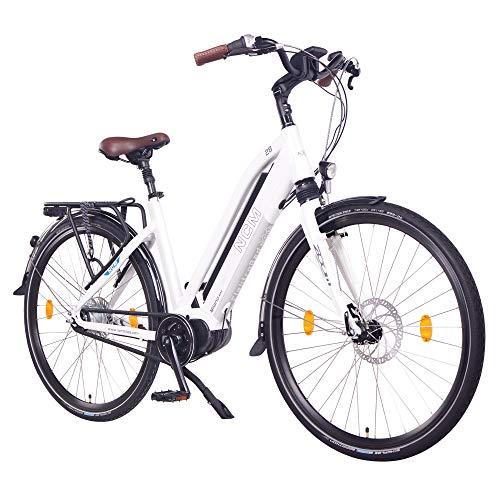 """NCM Milano Max Bicicletta elettrica da Trekking,28\"""" Bicicletta da Città, 250W Motore Centrale, Batteria 36V 14Ah 504Wh"""