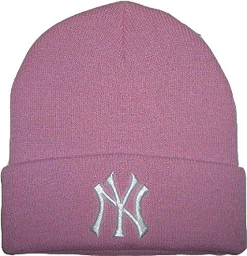 new-era-wollmutze-beanie-ny-logo-major-league-baseball-weiches-dehnbares-material-aus-100-acryl-rosa