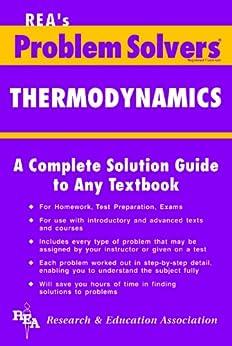 Thermodynamics Problem Solver de [REA, Editors of, Pike, Ralph]