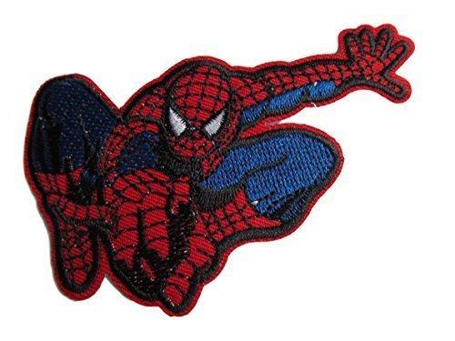 Fat-catz-copy-catz Parche bordado diseño Spiderman
