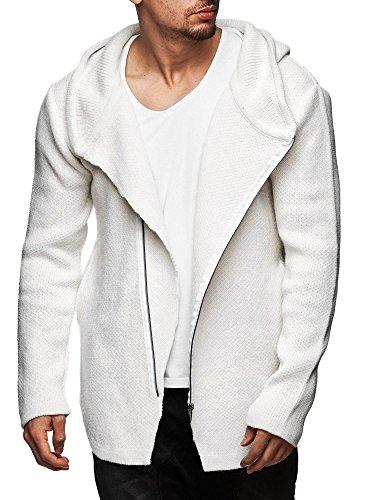S!RPREME -  Cardigan  - Basic - Maniche lunghe  - Uomo bianco L