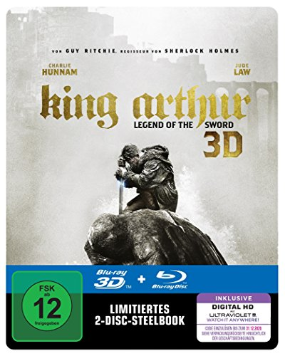 Bild von King Arthur: Legend Of The Sword Steelbook (exklusiv bei Amazon.de) [3D Blu-ray] [Limited Edition]