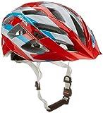ALPINA Damen Fahrradhelm Panoma, Red/Silver/Blue, 52-57 cm, 9665152