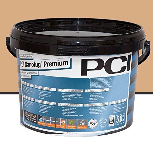 PCI Nanofug Premium Variabler Flexfugenmörtel 5 kg/ Eimer caramel