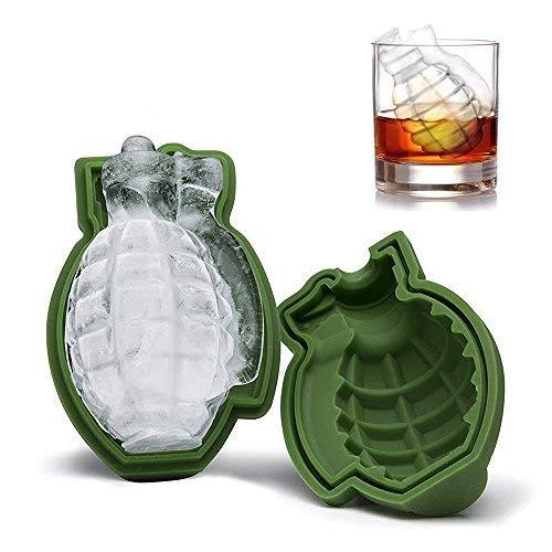 3d Granada Forma Cubo de hielo