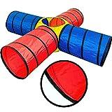 Spieltunnel Krabbeltunnel Kriechtunnel für Kinder ab 3 Jahren