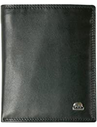 Brown Bear, Geldbörse Herren Farbe schwarz, 8 Kartenfächer, BBCL 8002 sz