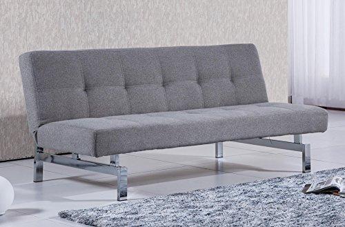 Sof-cama-sistema-clic-clac-modelo-CHIC-tejido-Elegance-color-gris-ceniza-Sedutahome