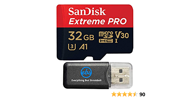 Sandisk 32gb Extreme Pro 4 K Memory Card For Dji Computers Accessories