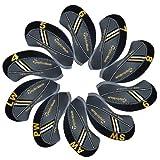 Taylormade Rbladez golf Schlägerkopfhüllen Golf Eisen deckt Eisenhauben 10pcs/set MT/t14 schwarz/grau