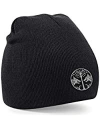 Taurus Destiny Iron Banner Embroidered Black Beanie Gaming Unisex