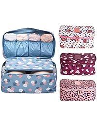 New Multi Design Travel Organizer Underwear Bras Storage Bag Case Holder Pouch Cosmetic Bag Luggage-Density