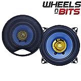 """Brand New J-Audio 2x100 Watt 4"""" Inch 10cm 100mm Dual Cone Car Door Shelf Dash Speakers Van Truck Boat Caravan Bus speaker include Grille covers"""