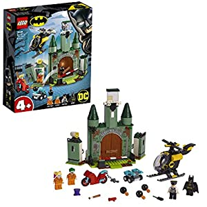 LEGO 76138 DC Batman 4+ Batman and The Joker Escape, Toys for Boys and Girls Age 4 with Buildable Helicopter