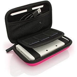 iGadgitz U3607 – Eva Hart Schutzhülle Kompatibel mit Nintendo 3DS (Nicht FÜR 3DS XL) – Pink