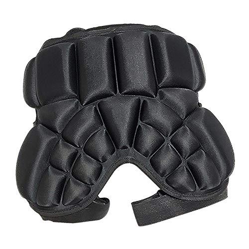 SM SunniMix Kinder Kind Hip Butt Pad Schutzausrüstung Für Fußball, Basketball, Fahrrad, Fußball, Volleyball Wahl Der Farben - Schwarz, 30mm