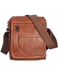 Handcuffs Mens Bag Messenger Bag Leather Shoulder Bags Travel Bag Crossbody Bags for Men Work Business