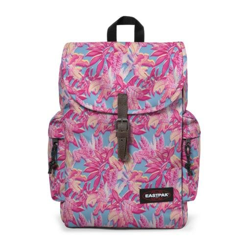Eastpak Austin Zaino 18 Litri, Multicolore (Pink Jungle), 42 cm
