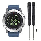 Zeblaze Vibe 3 - Smartwatch Digital Deportivo, Impermeable IP67, Zeblaze Vibe 3 Smart Watch de 1,22 Pulgadas, con visualización de la Fecha