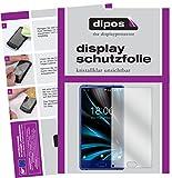 dipos I 2X Schutzfolie klar passend für Doogee Mix Lite Folie Bildschirmschutzfolie
