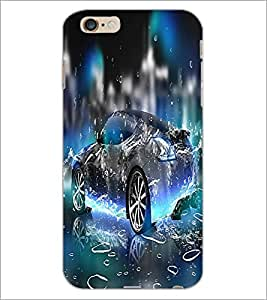 PrintDhaba Car D-2206 Back Case Cover for APPLE IPHONE 6S PLUS (Multi-Coloured)
