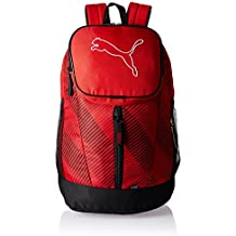 Puma Echo Backpack - Mochila, color rojo (barbados cherry), talla 30 x 46 x 18 cm (26L)