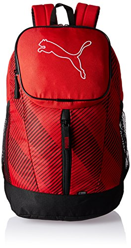 Puma Echo Backpack - Mochila, color rojo (barbados cherry), talla 30 x 46 x 18 cm (26L)