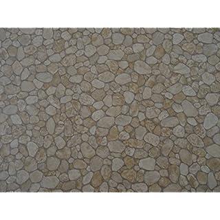 PVC in Kieselstein-Optik, beige - von Alpha-Tex 9.95€/m² (Länge: 150 cm, Breite: 200cm)