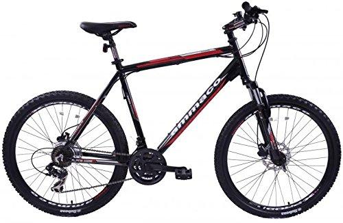 ammaco Alpine Comp 21Velocità da uomo in lega Mountain Bike con freni a disco ruota 26